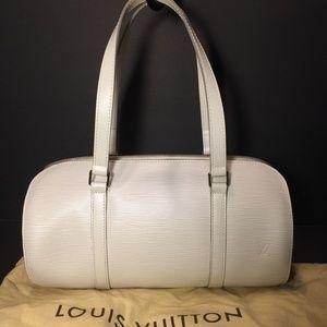Louis Vuitton Soufflot Epi Leather Bag (Yvoire)